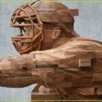 مجسمه سازی با چوب