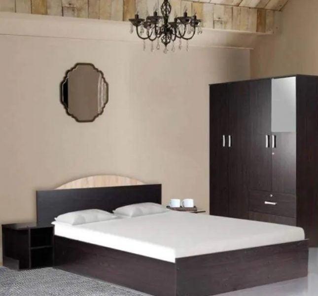 مجموعه اتاق خواب کمد لباس چهار درب