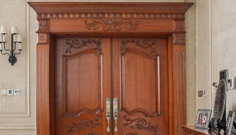 مدل های لوکس از انواع درب ورودی دولنگه , درب های لوکس لابی