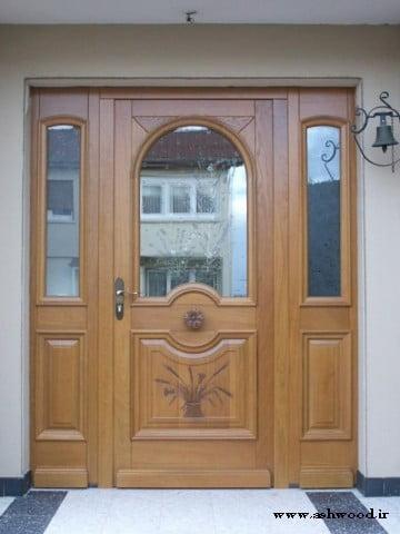 ایده و مدل انواع درب چوبی سفارشی , سازنده درب چوبی