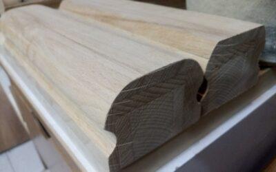 مدل هندریل چوب راش , دست انداز چوب راش
