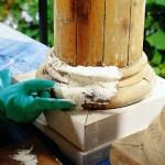 مرمت اثار باستانی و سازه های چوبی  (1)