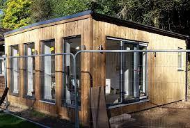 مزایای ساختمان های چوبی