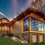 مزایای ساخت خانه چوبی