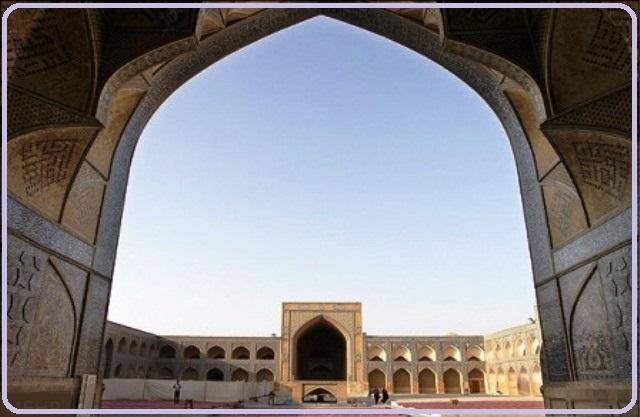 مسجد جامع اصفهان تاریخ و هنر ایران زمین 35