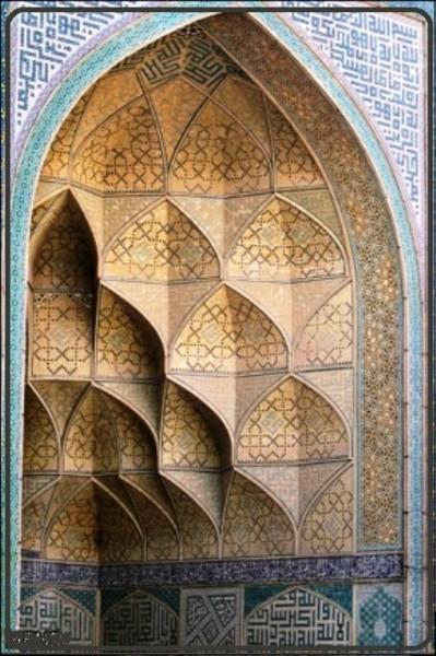 مسجد جامع اصفهان تاریخ و هنر ایران زمین 37