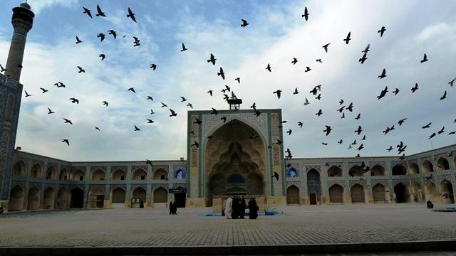 مسجد جامع اصفهان تاریخ و هنر ایران زمین 40