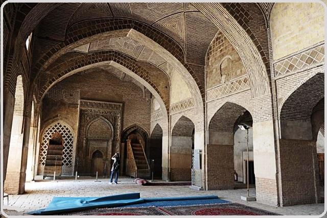 مسجد جامع اصفهان تاریخ و هنر ایران زمین 42