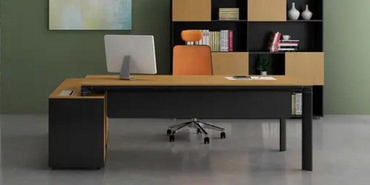 میز اداری چوبی شیک