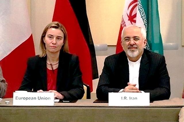 ظریف و موگرینی مشترکا نامزد جایزه صلح نوبل شدند