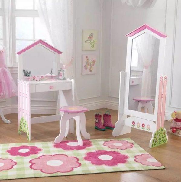 میز آرایش برای اتاق دخترانه