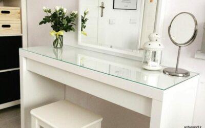استفاده از میز آرایشی در زیباسازی فضای اتاق خواب