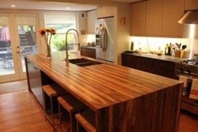 صفحه میز آشپزخانه تمام چوب