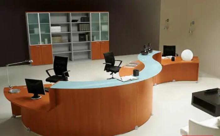 میز اداری پذیرش مدرن