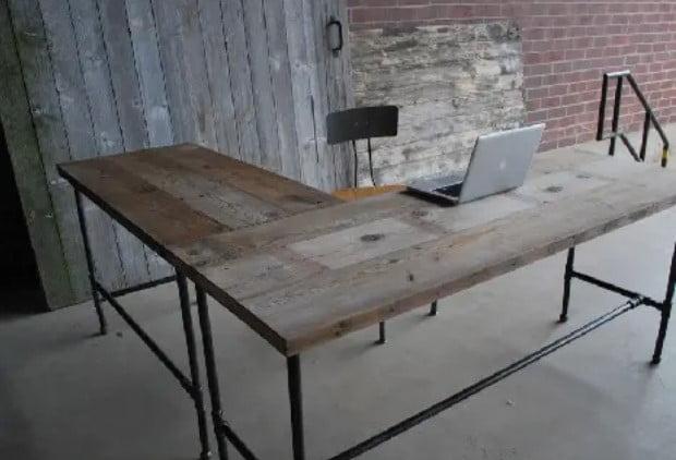 میز اداری L شکل