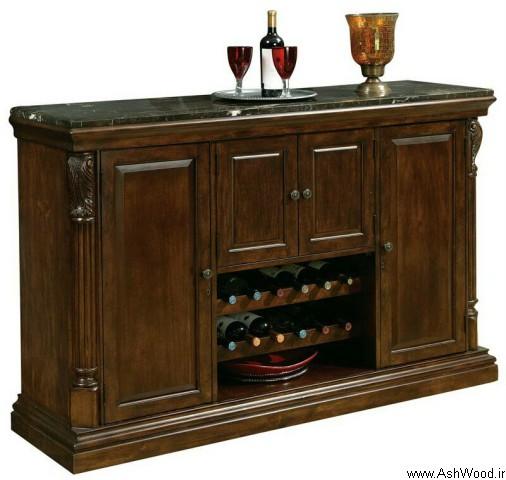 ایده های جدید میز کنسول بار , میز بار کنسول چوبی, سازنده میز بار