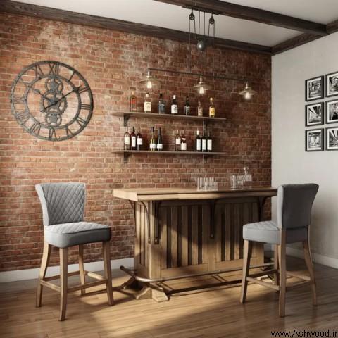 ساخت میز بار چوبی, کانتر بار چوبی, مدل های میز بار و کانتر بار چوبی و ترکیب چوب و فلز