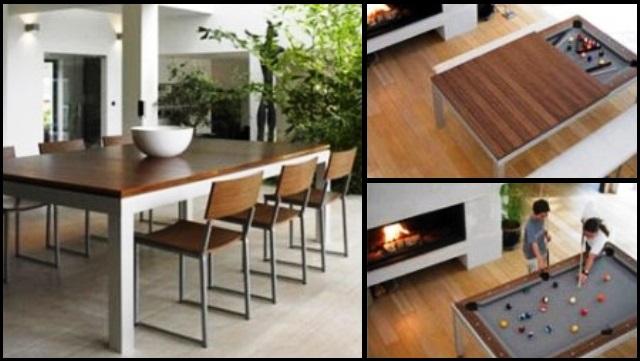 میز بیلیارد چوبی