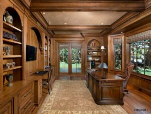 میز تحریر کتابخانه دار مدرن, میز کار کلاسیک