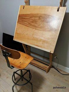 میز تحریر با قابلیت تنظیم ارتفاع و زاویه صفحه میز