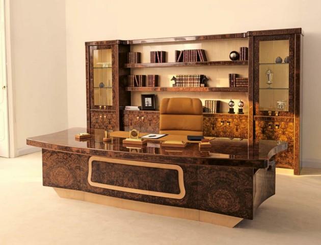 میز تحریر لوکس چوبی