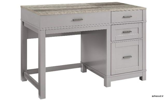 میز تحریر چوبی , میز تحریر و کتابخانه چوبی