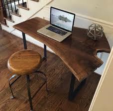 میز تحریر ساخته شده از چوب گردو , اسلب چوب گردو