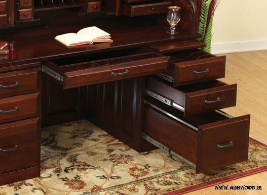 میز تحریر چوبی , رولتاپ