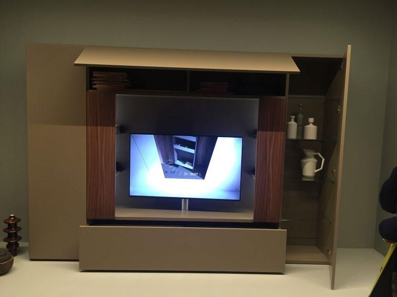 میز تلویزیون برای فضاهای کوچک
