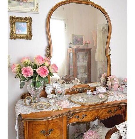 میز آرایش , ایده های جالب میز توالت