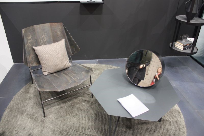 میز جلومبلی شش ضلعی