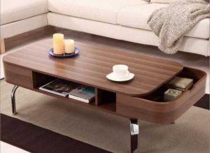 میزهای چوبی جادار