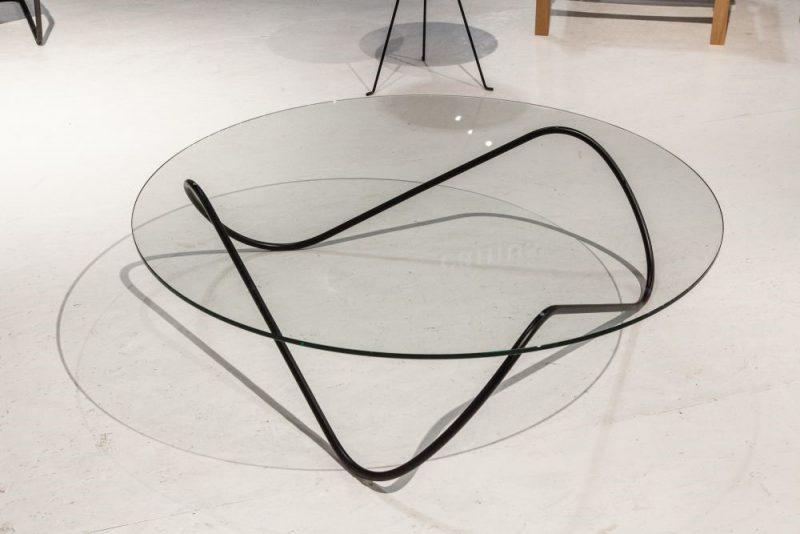 میز شیشه ای مدرن