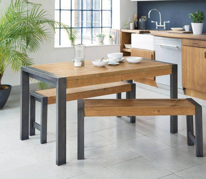 میز صبحانه چوبی
