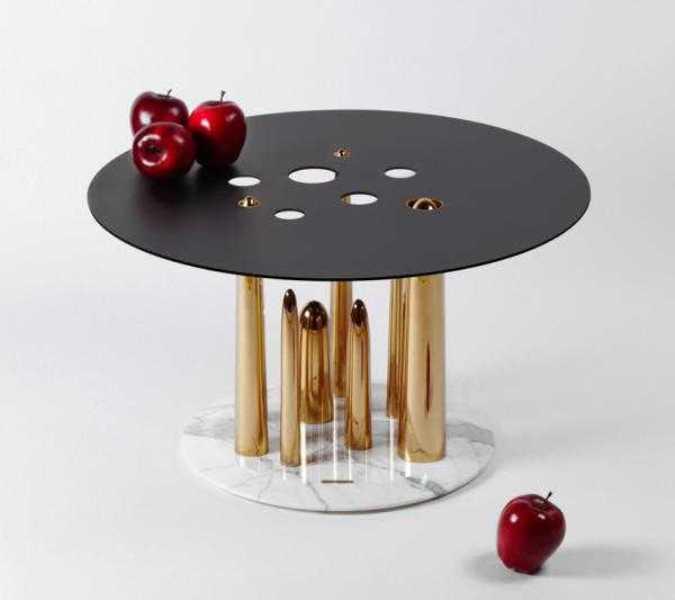 میز های عسلی زیبا و عجیب