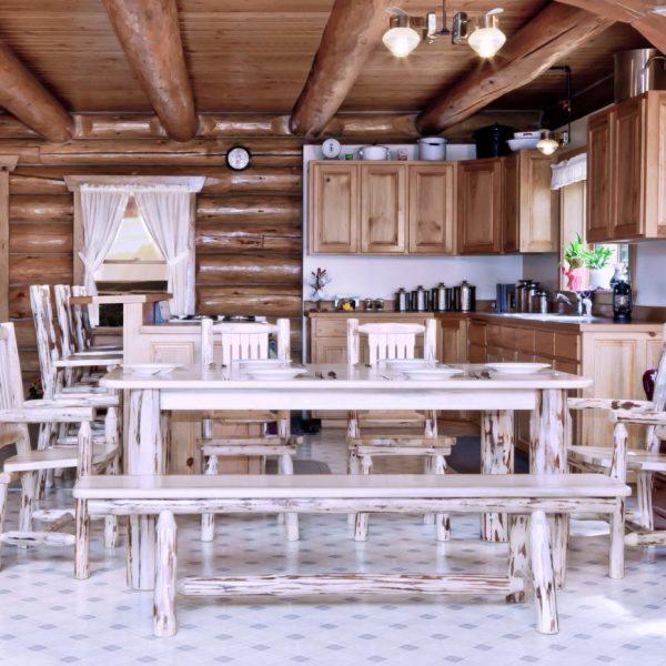 میز غذاخوری روستایی