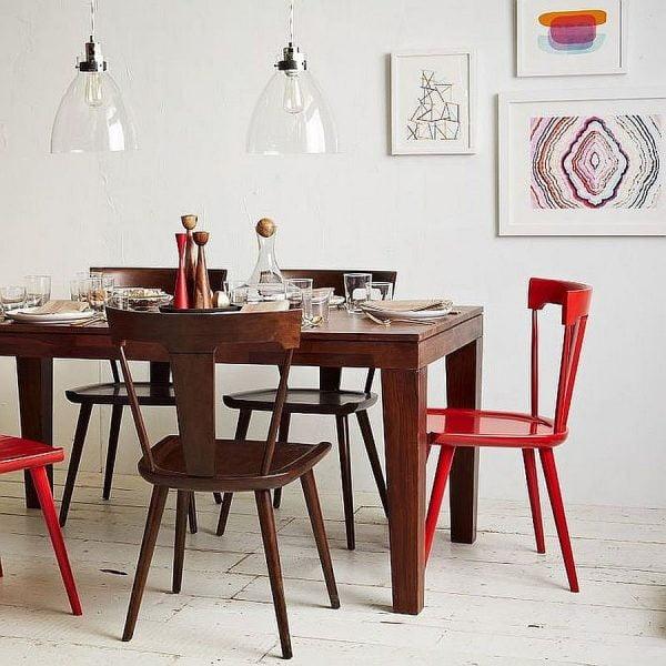 میز غذاخوری چوبی کلاسیک
