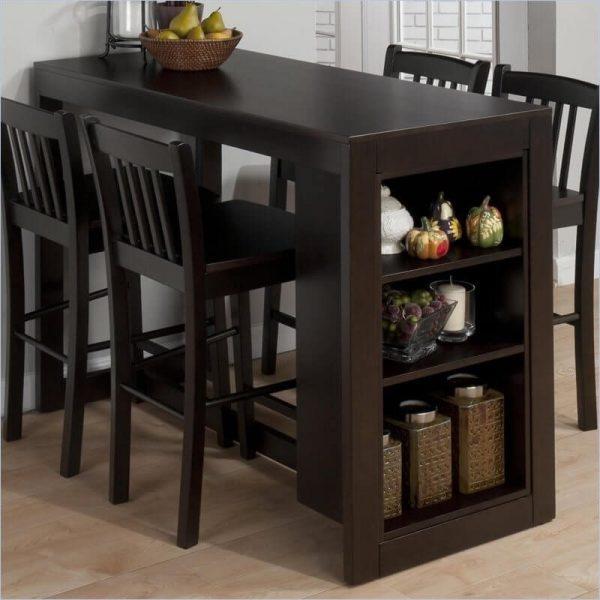 میز غذاخوری چوبی