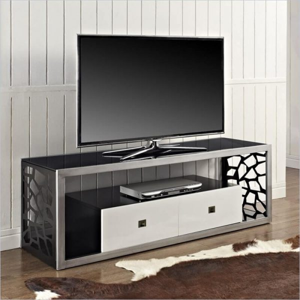 میز فلزی برای تلویزیون