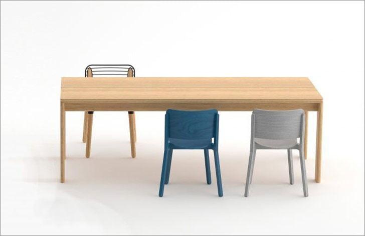 میز ناهارخوری بلوط