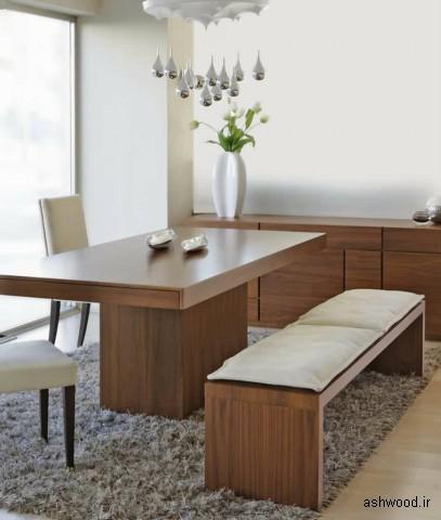 95 اتاق ناهارخوری با فرش (عکس), ایده هایی برای میز ناهارخوری و فرش
