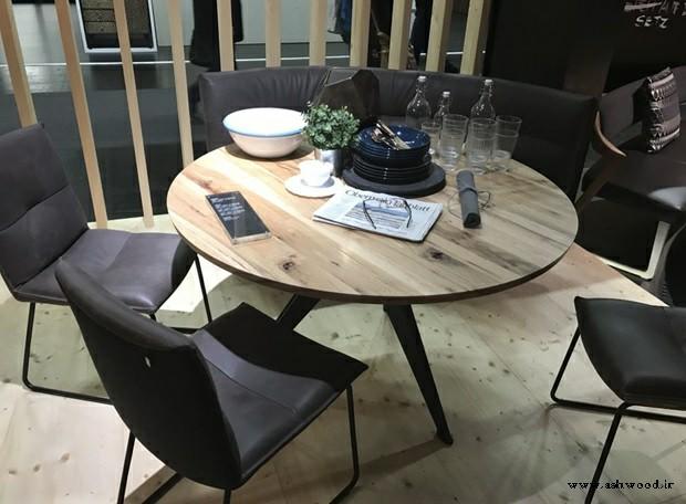 ایده و مدل میز ناهارخوری چوبی کوچک