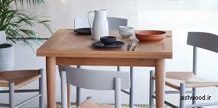 انواع میز ناهار خوری کوچک و کم جا