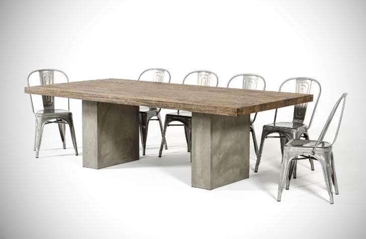 میز ناهار خوری بلوط پاگوسا
