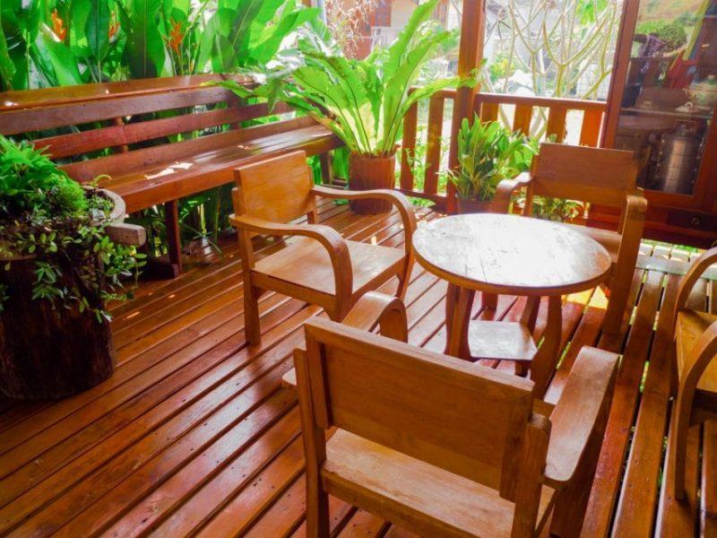 میز ناهار خوری چوبی برای منزل