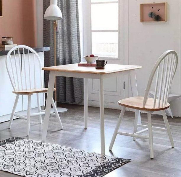 میز ناهار خوری چوبی قابل توسعه کنز