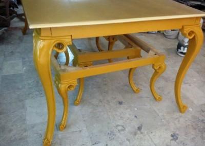 قیمت میز ناهار خوری چوب راش