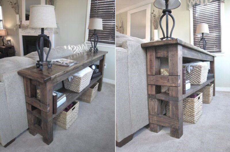 میز کنار مبلی