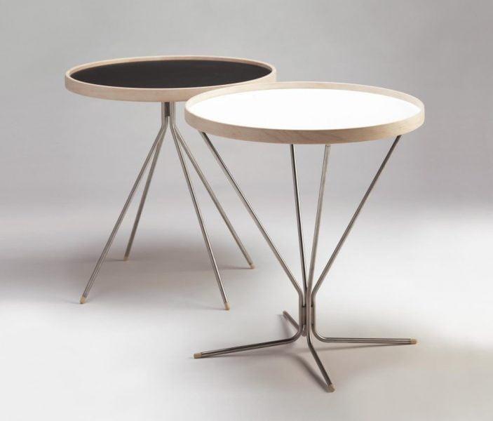 میز های کنار مبلی چوبی