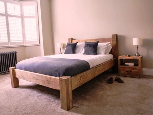 دکوراسیون چوبی منزل , سرویس خواب روستیک